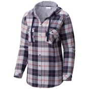 Columbia Times Two Womens Hoodie, Nocturnal Plaid, medium