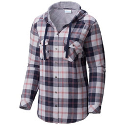 Columbia Times Two Womens Hoodie, Nocturnal Plaid, 256