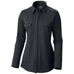 Columbia Rocky Ridge Long Sleeve Womens Shirt, Black, 256