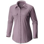 Columbia Rocky Ridge Long Sleeve Womens Shirt, Sparrow, medium