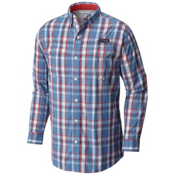 Columbia PFG Super Low Drag Long Sleeve Mens Shirt, Skyler Multi Plaid, medium