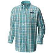 Columbia PFG Super Low Drag Long Sleeve Mens Shirt, Moxie Multi Plaid, medium