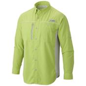 Columbia PFG Solar Drag Long Sleeve Mens Shirt, Tippet-Cool Grey, medium