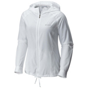Columbia Silver Ridge Womens Hoodie, White, medium