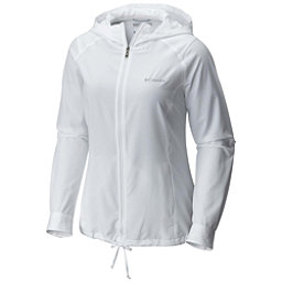 Columbia Silver Ridge Womens Hoodie, White, 256