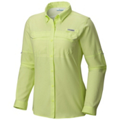 Columbia PFG Lo Drag Long Sleeve Womens Shirt, Spring Yellow, medium