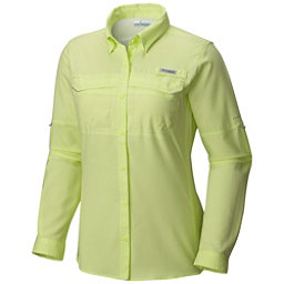 Columbia PFG Lo Drag Long Sleeve Womens Shirt, Spring Yellow, 256