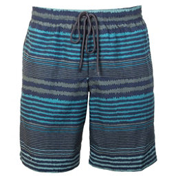 Columbia Lakeside Leisure Mens Hybrid Shorts, Pond Stripe, 256