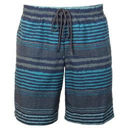 Columbia Lakeside Leisure Mens Hybrid Shorts, Pond Stripe, 256
