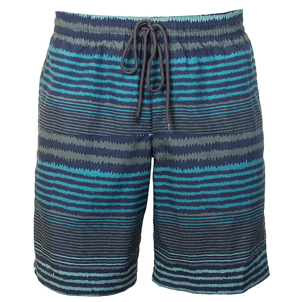 Columbia Lakeside Leisure Mens Hybrid Shorts, Pond Stripe, 600