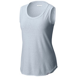 Columbia Trail Shaker Womens Tank Top, Cirrus Grey Heather, 256