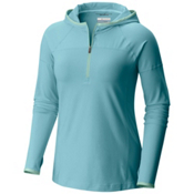 Columbia PFG Solar Ridge Womens Hoodie, Iceberg-Sea Ice, medium
