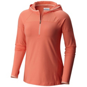 Columbia PFG Solar Ridge Womens Hoodie, Lychee, medium