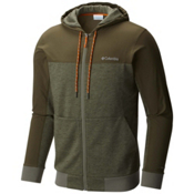 Columbia Lost Lager Mens Hoodie, Cypress-Peatmoss-Valencia, medium