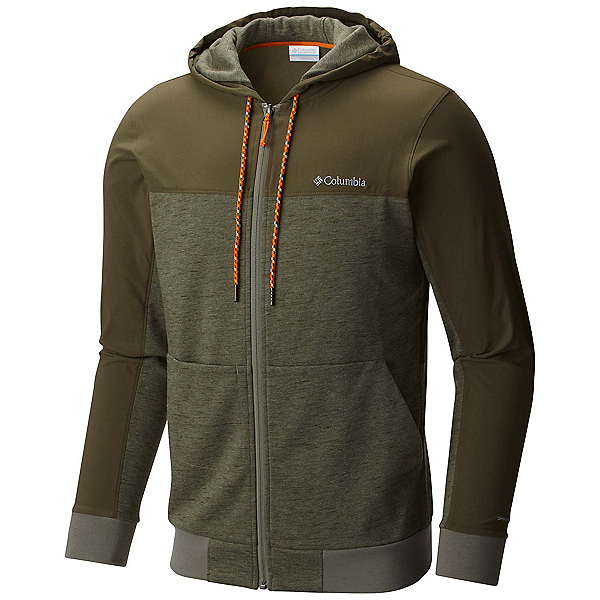 Columbia Lost Lager Mens Hoodie, Cypress-Peatmoss-Valencia, 600
