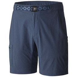 Columbia Creek to Peak 10in. Mens Hybrid Shorts, Zinc-Dark Mirage, 256