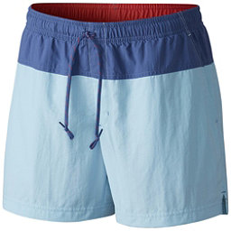 Columbia Sandy River Womens Hybrid Shorts, Oxygen-Bluebell-Sunset Red, 256