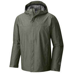 Columbia Diablo Creek Rain Shell Mens Jacket, Cypress, 256