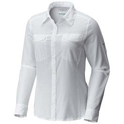 Columbia Silver Ridge Lite Long Sleeve Womens Shirt, White, 256