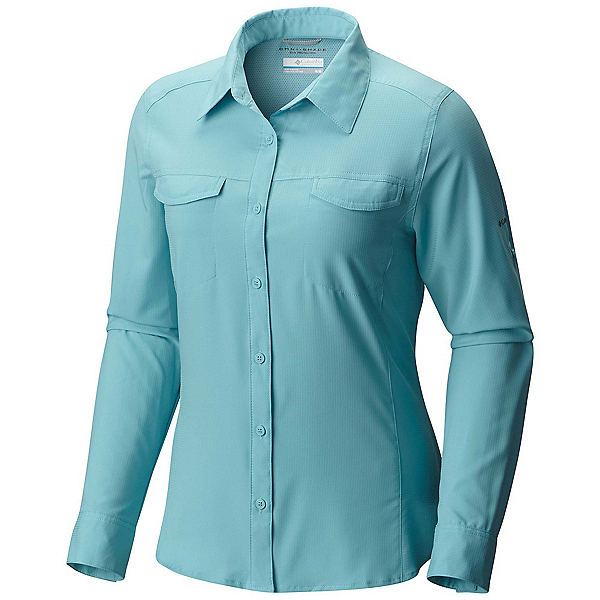 Columbia Silver Ridge Lite Long Sleeve Womens Shirt, Iceberg, 600