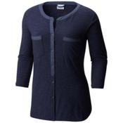 Columbia Vista Hills Henley Womens Shirt, Nocturnal, medium