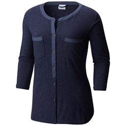 Columbia Vista Hills Henley Womens Shirt, Nocturnal, 256