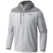 Mountain Hardwear Super Chockstone Hooded Mens Jacket, Grey Ice, medium