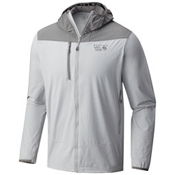 Mountain Hardwear Super Chockstone Hooded Mens Jacket, Grey Ice, 256