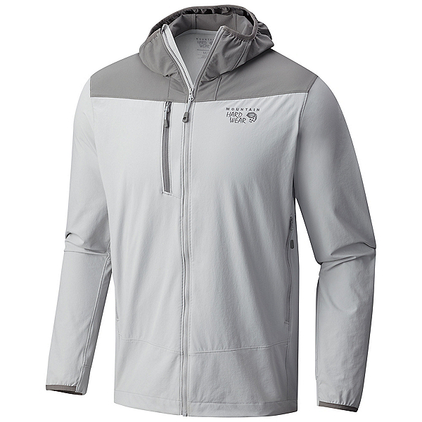 Mountain Hardwear Super Chockstone Hooded Mens Jacket, Grey Ice, 600