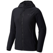 Mountain Hardwear Super Chockstone Hooded Womens Jacket, Black, medium