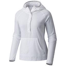 Mountain Hardwear MHW AC Long Sleeve Womens Hoodie, White, 256