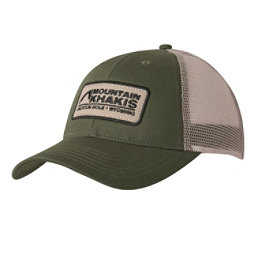 Mountain Khakis Soul Patch Trucker Hat, Field Green, 256