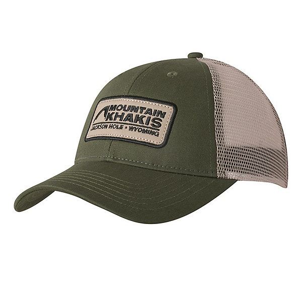 Mountain Khakis Soul Patch Trucker Hat, Field Green, 600