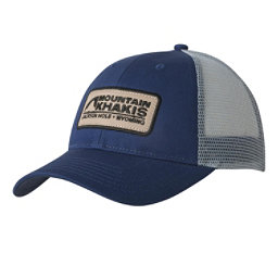 Mountain Khakis Soul Patch Trucker Hat, Indigo, 256