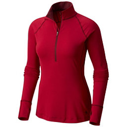 Mountain Hardwear Butterlicious Long Sleeve Half Zip Womens Shirt, Cranstand, 256