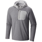 Mountain Hardwear Cragger Pullover Mens Hoodie, Heather Titanium, medium