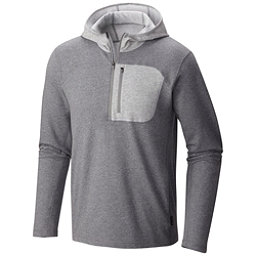 Mountain Hardwear Cragger Pullover Mens Hoodie, Heather Titanium, 256