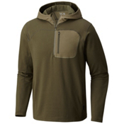 Mountain Hardwear Cragger Pullover Mens Hoodie, Peatmoss, medium