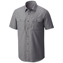 Mountain Hardwear Canyon Short Sleeve Mens Shirt, Manta Grey, 256