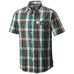 Mountain Hardwear Farthing Short Sleeve Mens Shirt, Peatmoss, 256