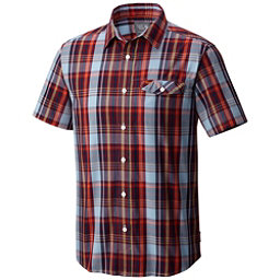 Mountain Hardwear Farthing Short Sleeve Mens Shirt, Cote Du Rhone, 256