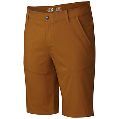 Mountain Hardwear Hardwear AP Mens Shorts, Golden Brown, viewer