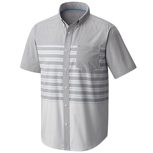 Mountain Hardwear Axton AC Short Sleeve Mens Shirt, Manta Grey, 600