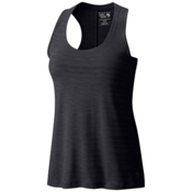 Mountain Hardwear Mighty Stripe Womens Tank Top, Black, medium