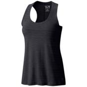 Mountain Hardwear Mighty Stripe Womens Tank Top, Black, medium