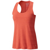 Mountain Hardwear Mighty Stripe Womens Tank Top, Crab Legs, medium