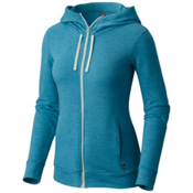 Mountain Hardwear Burned Out Full Zip Womens Hoodie, Shasta, medium