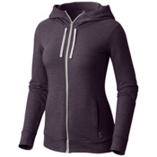 Mountain Hardwear Burned Out Full Zip Womens Hoodie, Blurple, medium