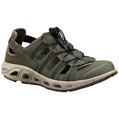 Columbia Supervent II Mens Watershoes, Grey Ash-Super Sonic, viewer