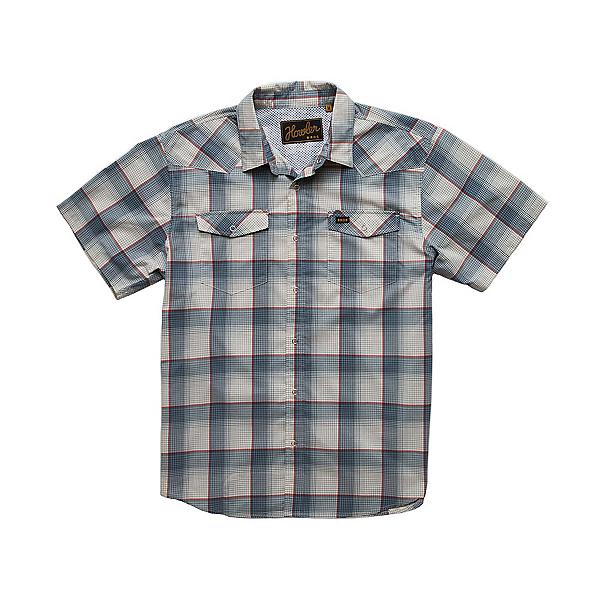 Howler Brothers H Bar B Tech Mens Shirt, Jetstream Blue, 600